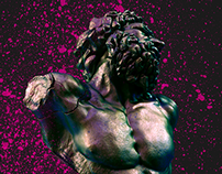 PixelSquid In Action: Laocoön & His Splatter Paint