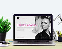 Butterfly Abayas - Branding and Webdesign