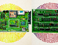 Drawing Retro Motherboards