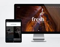 Canna   Elegant HTML Template