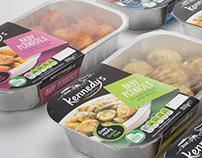 K&K Produce Oven ready Range: Packaging Design