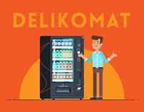 Delikomat - explainer video   Crazy Cat Studio