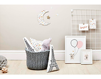 Nursery decor collection with Little Cloud