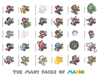 The Many Faces of Mario