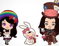 Rasta Wonderland Characters
