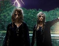 Swamp - Halloween Card Photo 2016