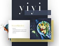 Yiyi私厨-美食网站