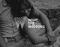 What the wedding / Logo design - visual ID