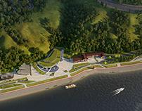 The reconstruction of Chernigovskaya embankment