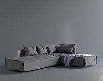 D.One sofa