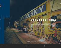 Swietelsky Vasúttechnika Kft. webdesign