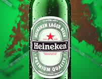 Heineken Graphic Work