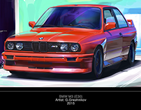 BMW M3 (E30) Illustration