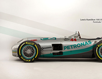 Classic F1 with recent liveries