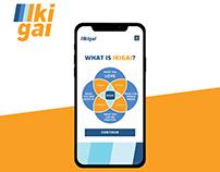 Ikigai - Visual Identity & UI / UX