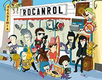 LP Academia Rocanrol