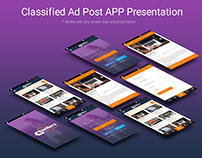 Classified Android App Design Concept