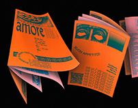 Amoremio Pizza Flyer