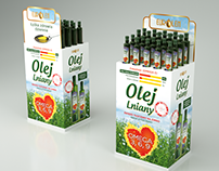 Eurolen - Linseed Oil POS design
