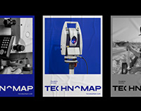 Technomap – a geodesic service identity