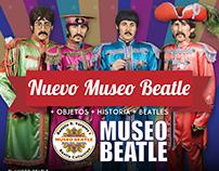 Logo + Diseño + Animación . Museo Beatle de Bs As
