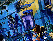 Haunted Castle of OZ Book Cover unreleased