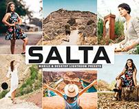 Free Salta Mobile & Desktop Lightroom Presets