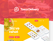 Food Delivery App and Web UI/UX with free Adobe XD file