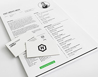 Free Indesign Resume Template with Clean Design