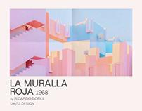 LA MURALLA ROJA by Ricardo Bofill website