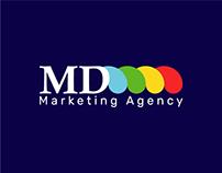 MD Agency Logo&identity