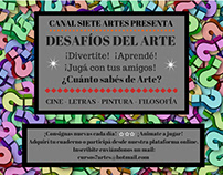 SIETE ARTES ENTRETENIMIENTO: Desafíos del Arte