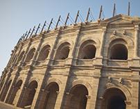 Nemausus Amphitheater, 1st. century AD.