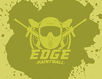 Edge Paintball Logo and website redesign