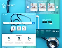 Healy - HealthCare Search Engine - Free Template