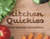Kitchen Quickies — Brand Identity, Lettering