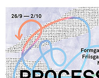 Process- exhibition poster