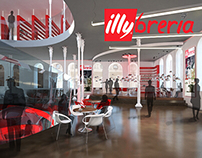 Illy Bookstore Cafe 3rd Place IIDA 2018