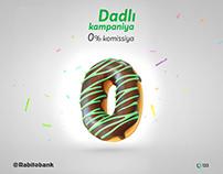 Rabita Bank - Tasty Campaign - 0% commission