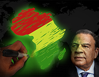 Ambassador Andrew Young Africa Lecture Series Art