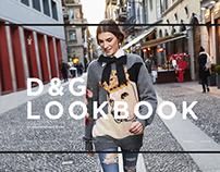 Concept of the fashion e-store