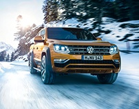 VW Amarok, all weather