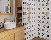 Projekt łazienki - Lutynia