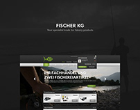 Fischer KG - Ecommerce - Shop - Corporate - Fishing