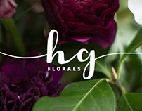 HG Florals Logo and Branding