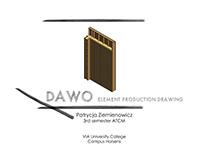 Prefabricated element