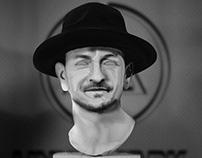 Chester Bennington Heykel / Sculpture