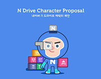 NAVER N-Drive Character & Character Animation Proposal