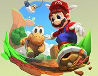 [Fanart] Mario 64