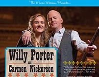 Porter benefit concert poster